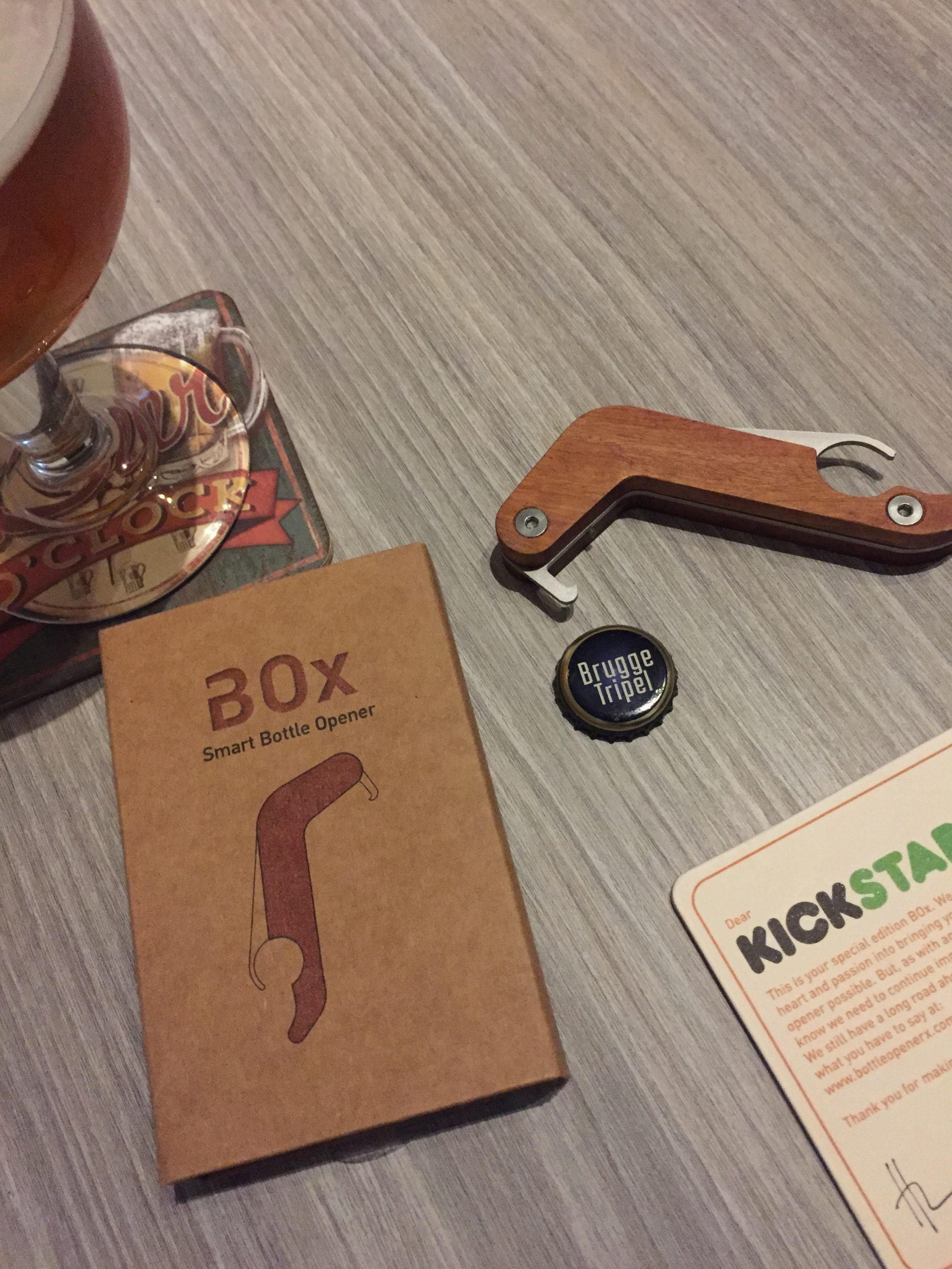 BOx Smart Bottle Opener
